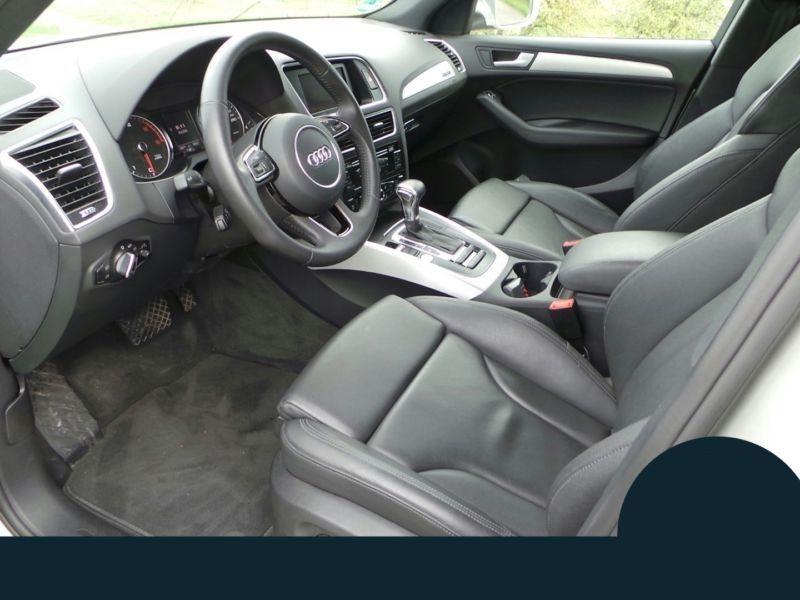 Audi Q5 3.0 TDI Quattro 245 Argent occasion à Beaupuy - photo n°4