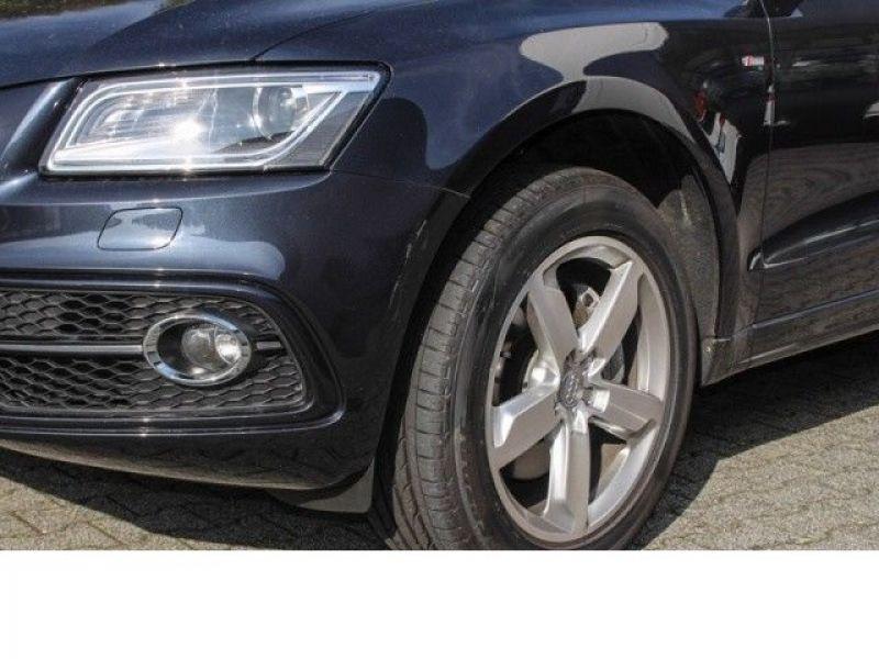 Audi Q5 3.0 TDI Quattro 245 Bleu occasion à Beaupuy - photo n°9
