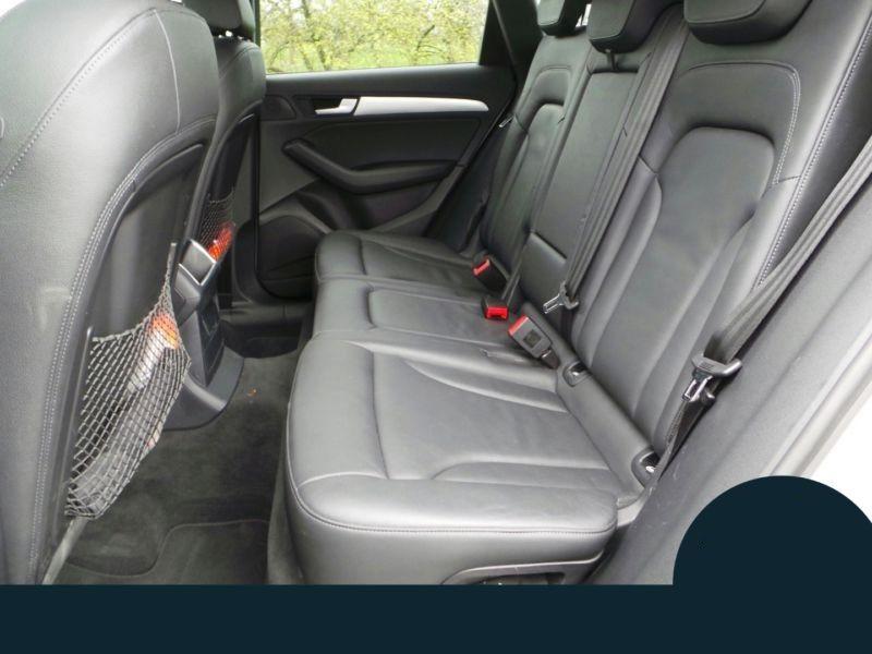 Audi Q5 3.0 TDI Quattro 245 Argent occasion à Beaupuy - photo n°6