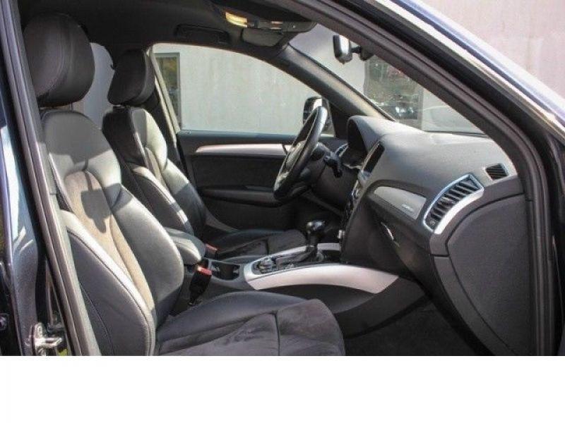 Audi Q5 3.0 TDI Quattro 245 Bleu occasion à Beaupuy - photo n°4