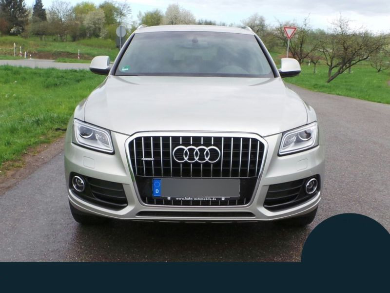 Audi Q5 3.0 TDI Quattro 245 Argent occasion à Beaupuy - photo n°8