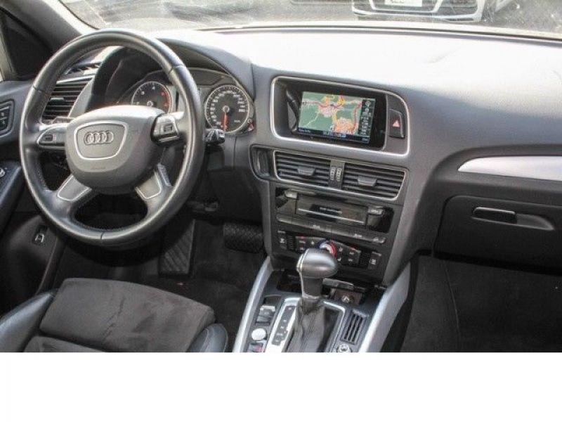 Audi Q5 3.0 TDI Quattro 245 Bleu occasion à Beaupuy - photo n°2