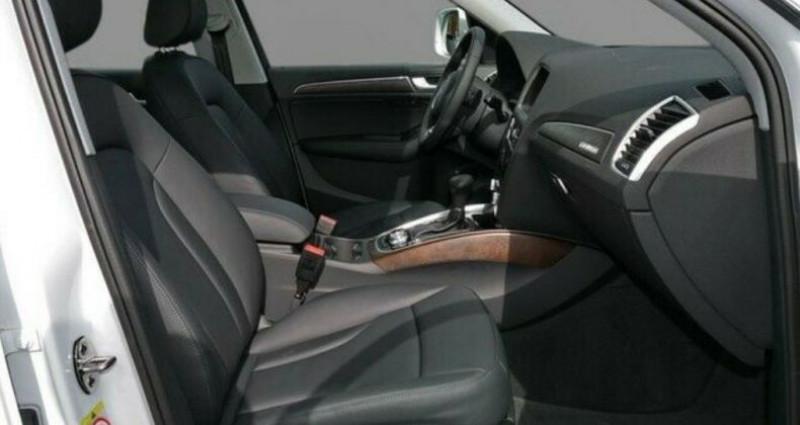 Audi Q5 3.0 V6 TDI 258CH CLEAN DIESEL BUSINESS LINE QUATTRO S TRONIC Bleu occasion à Saint Patrice - photo n°5