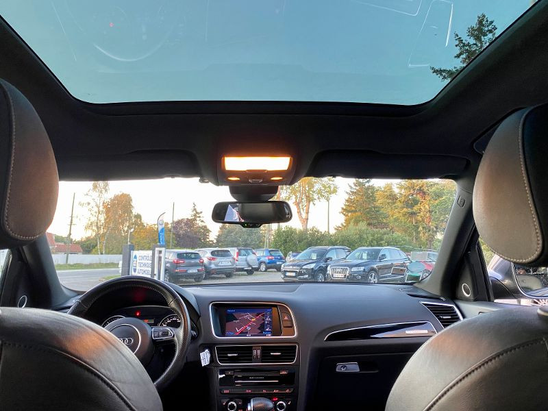 Audi Q5 3.0 V6 TDI 258ch clean diesel S line competition plus quattr Gris occasion à Castelmaurou - photo n°7