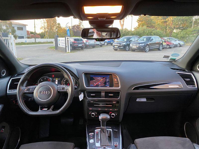 Audi Q5 3.0 V6 TDI 258ch clean diesel S line competition plus quattr Gris occasion à Castelmaurou - photo n°6