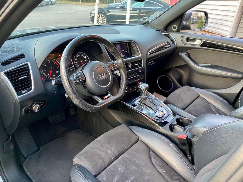 Audi Q5 3.0 V6 TDI 258ch clean diesel S line competition plus quattr Gris occasion à Castelmaurou - photo n°3