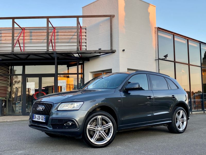 Audi Q5 3.0 V6 TDI 258ch clean diesel S line competition plus quattr Gris occasion à Castelmaurou