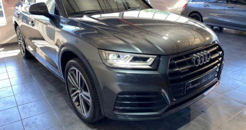 Audi Q5 3.0 V6 TDI 286CH S LINE QUATTRO Gris occasion à COURNON D'AUVERGNE - photo n°2
