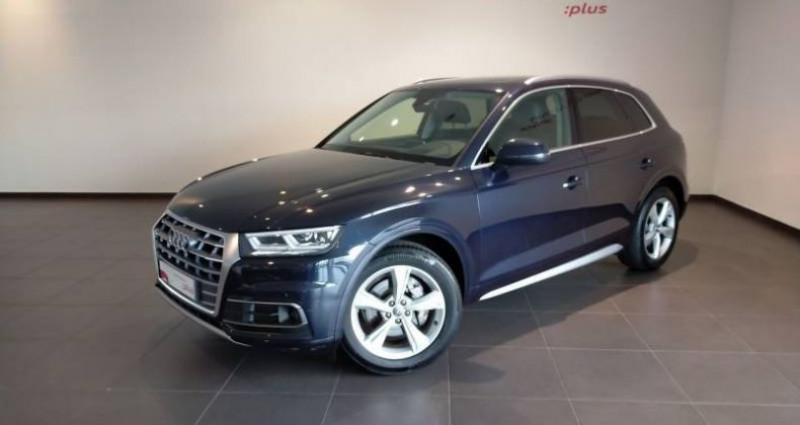 Audi Q5 35 TDI 163 S tronic 7 Avus Bleu occasion à Chenove