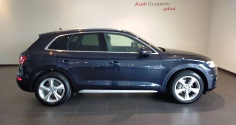 Audi Q5 35 TDI 163 S tronic 7 Avus Bleu occasion à Chenove - photo n°2