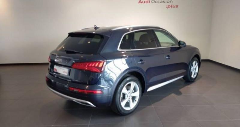 Audi Q5 35 TDI 163 S tronic 7 Avus Bleu occasion à Chenove - photo n°3