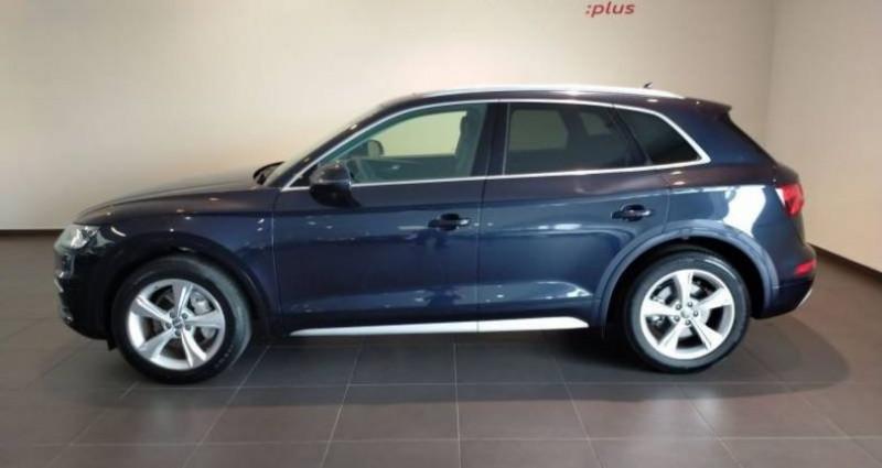 Audi Q5 35 TDI 163 S tronic 7 Avus Bleu occasion à Chenove - photo n°4