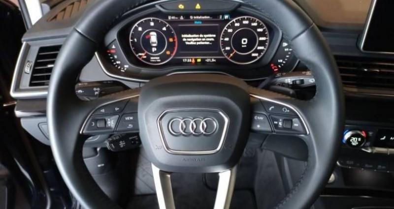 Audi Q5 35 TDI 163 S tronic 7 Avus Bleu occasion à Chenove - photo n°5
