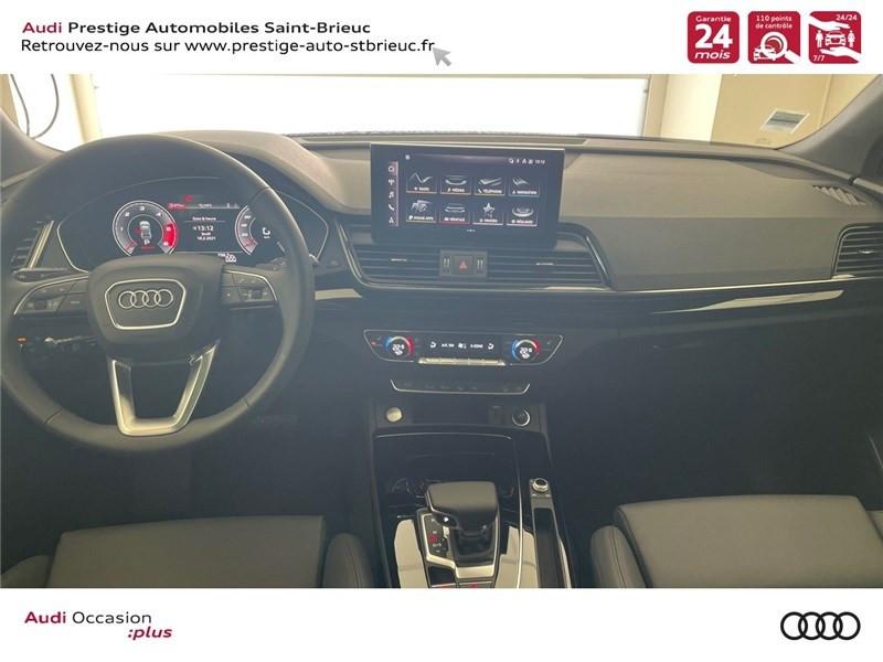 Audi Q5 35 TDI 163 S TRONIC 7 Gris occasion à Saint-Brieuc - photo n°6