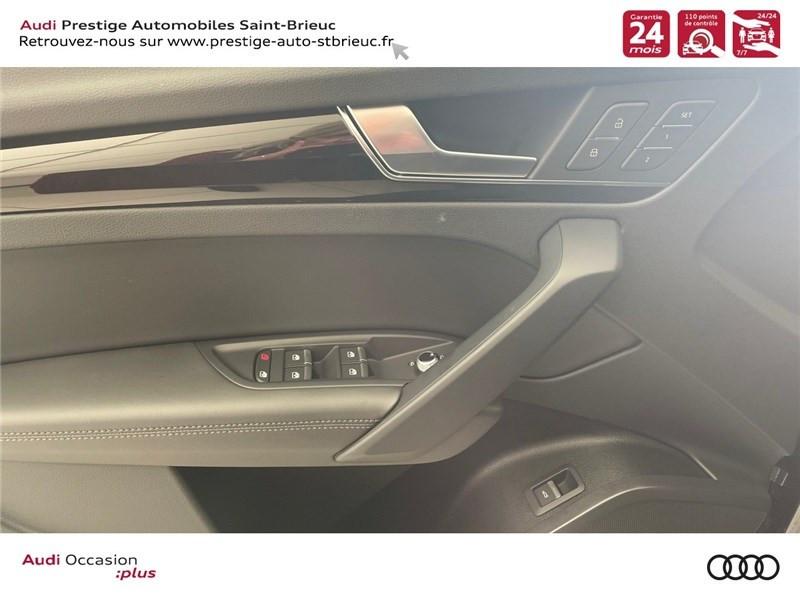 Audi Q5 35 TDI 163 S TRONIC 7 Gris occasion à Saint-Brieuc - photo n°11