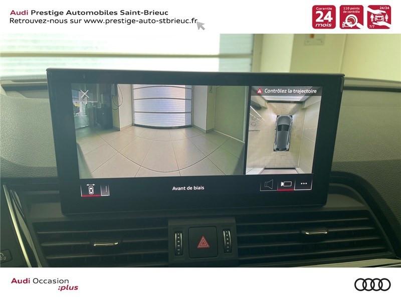 Audi Q5 35 TDI 163 S TRONIC 7 Gris occasion à Saint-Brieuc - photo n°13