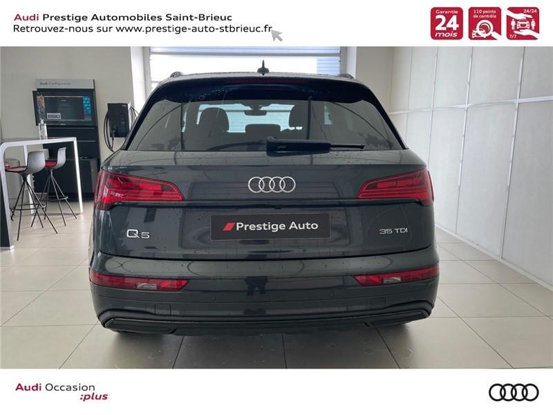 Audi Q5 35 TDI 163 S TRONIC 7 Gris occasion à Saint-Brieuc - photo n°5