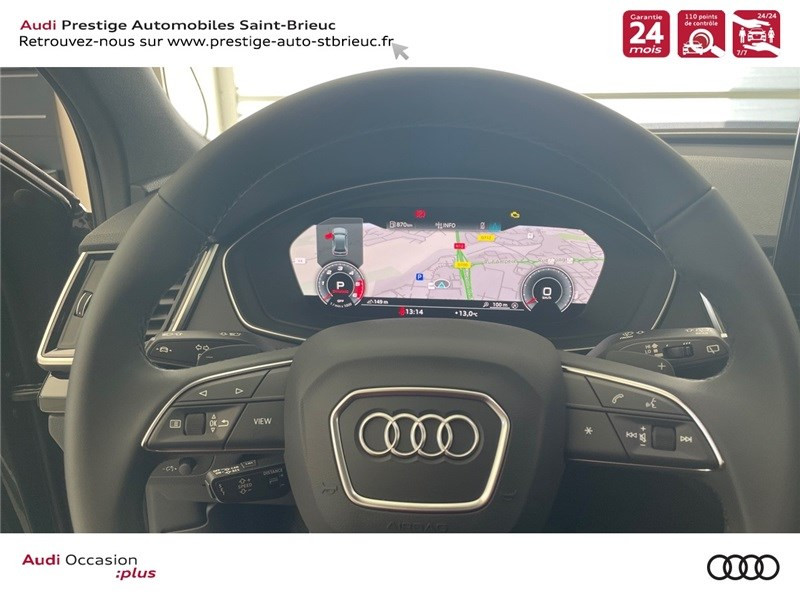 Audi Q5 35 TDI 163 S TRONIC 7 Gris occasion à Saint-Brieuc - photo n°12