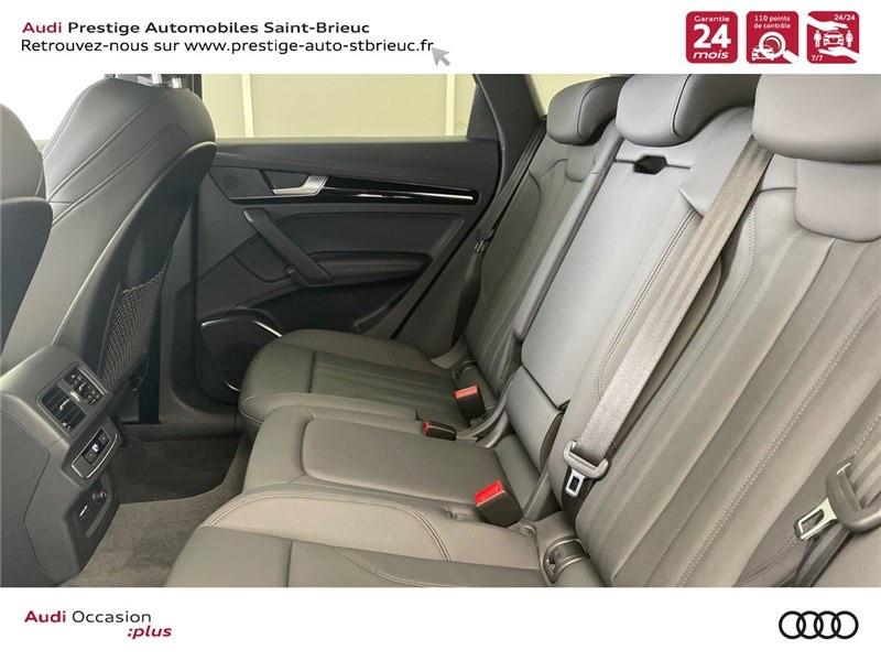 Audi Q5 35 TDI 163 S TRONIC 7 Gris occasion à Saint-Brieuc - photo n°8