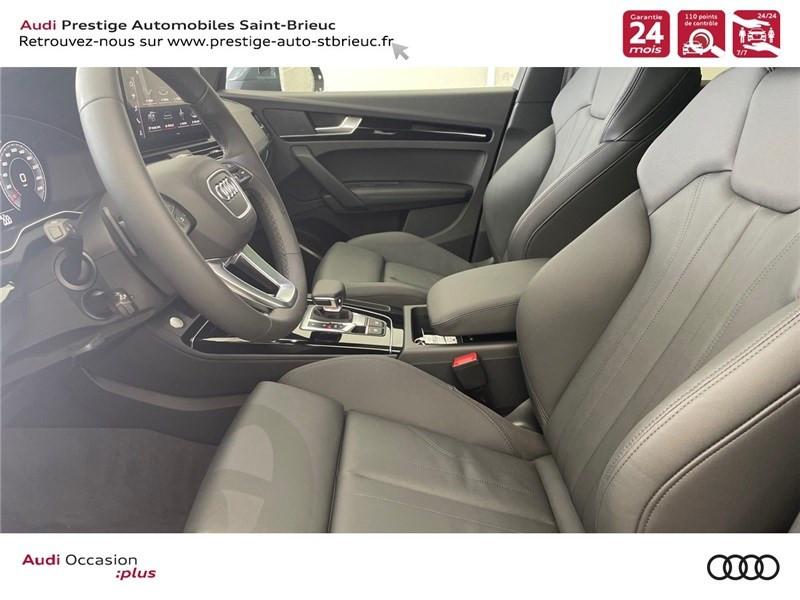 Audi Q5 35 TDI 163 S TRONIC 7 Gris occasion à Saint-Brieuc - photo n°7