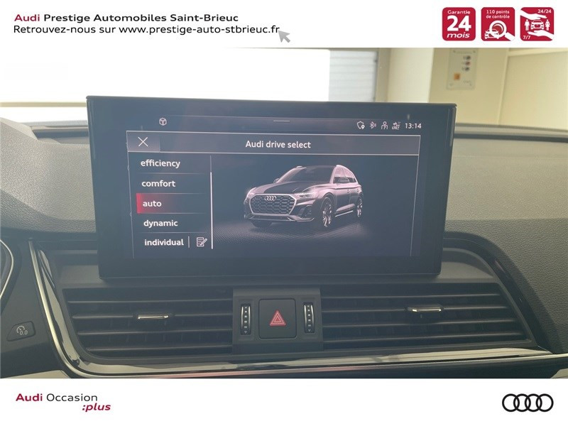 Audi Q5 35 TDI 163 S TRONIC 7 Gris occasion à Saint-Brieuc - photo n°14