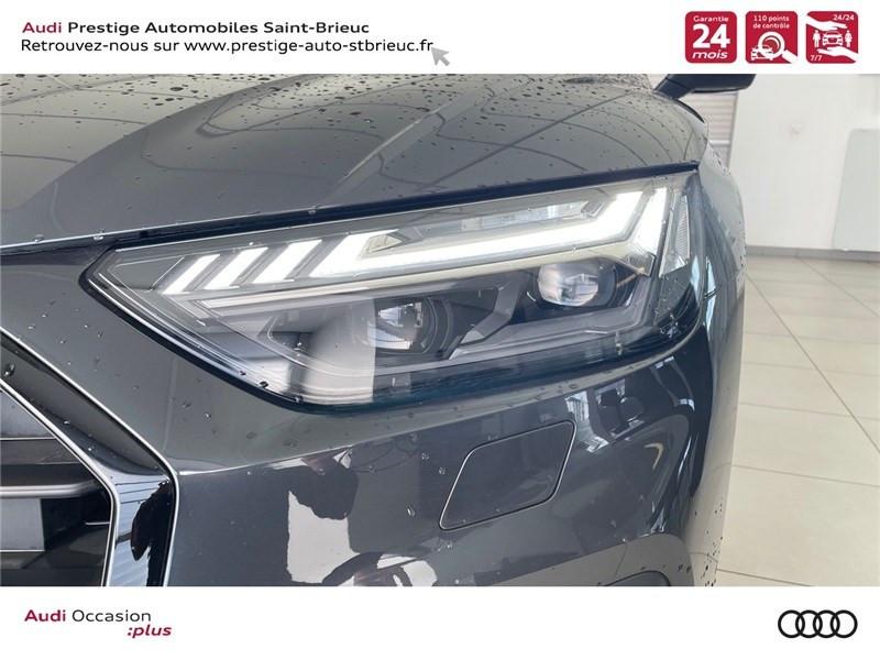 Audi Q5 35 TDI 163 S TRONIC 7 Gris occasion à Saint-Brieuc - photo n°10