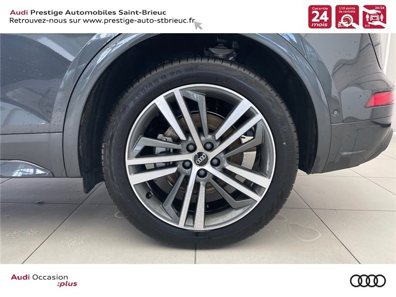 Audi Q5 35 TDI 163 S TRONIC 7 Gris occasion à Saint-Brieuc - photo n°9