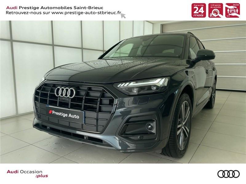 Audi Q5 35 TDI 163 S TRONIC 7 Gris occasion à Saint-Brieuc