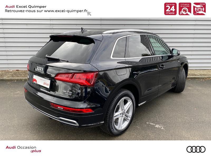 Audi Q5 35 TDI 163ch S line quattro S tronic 7 Euro6dT Noir occasion à Quimper - photo n°4