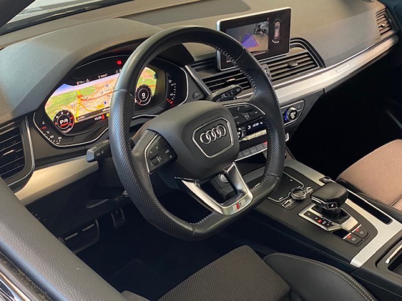 Audi Q5 35 TDI 163ch S line S tronic 7 Euro6d-T Gris occasion à Saint-Herblain - photo n°4