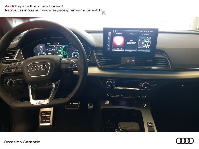 Audi Q5 35 TDI 163ch S line S tronic 7 Gris occasion à Lanester - photo n°6