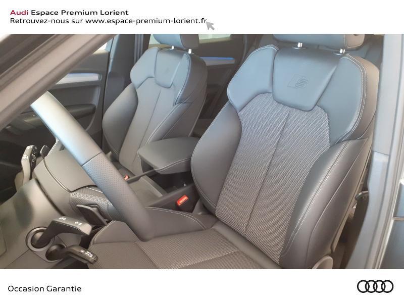 Audi Q5 35 TDI 163ch S line S tronic 7 Gris occasion à Lanester - photo n°7