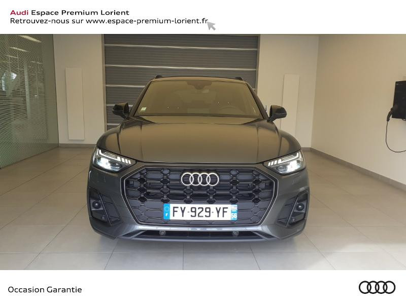 Audi Q5 35 TDI 163ch S line S tronic 7 Gris occasion à Lanester - photo n°2