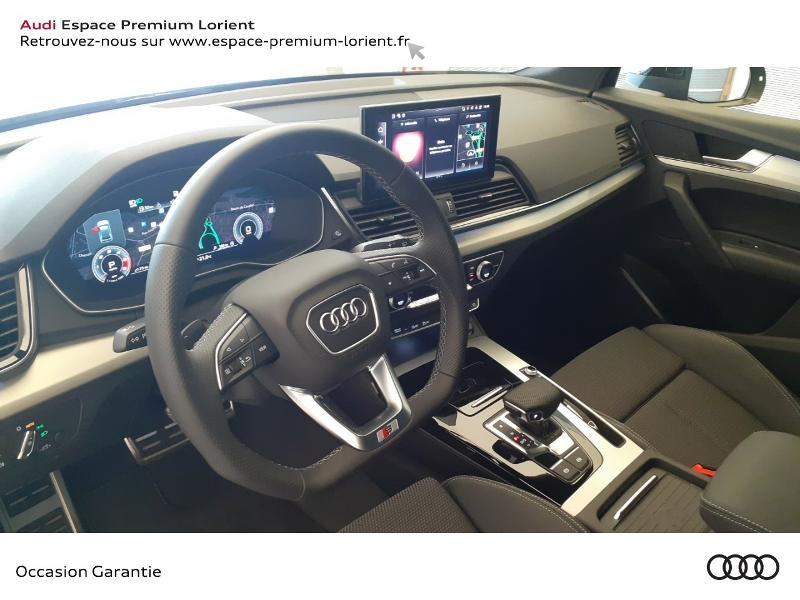 Audi Q5 35 TDI 163ch S line S tronic 7 Gris occasion à Lanester - photo n°18