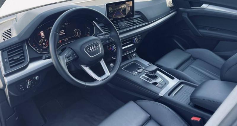 Audi Q5 40 TDI 190 S tronic 7 Quattro Avus Blanc occasion à Saint-Ouen - photo n°5