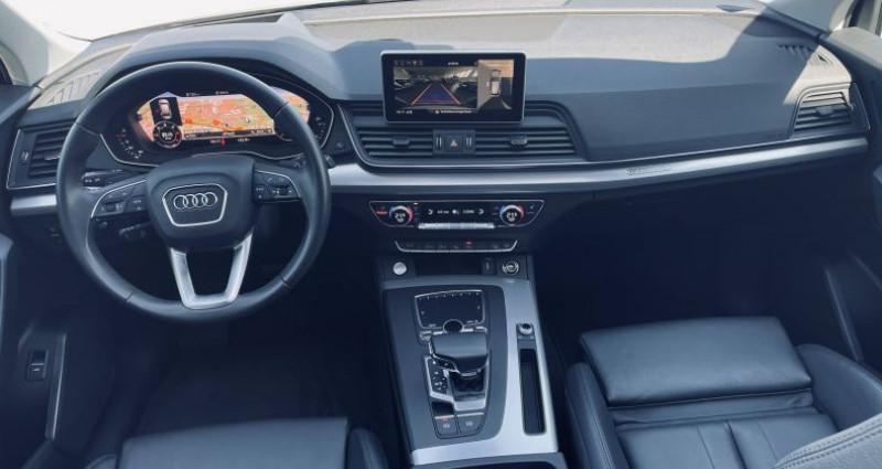 Audi Q5 40 TDI 190 S tronic 7 Quattro Avus Blanc occasion à Saint-Ouen - photo n°6