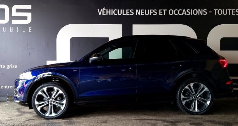 Audi Q5 40 TDI 190ch quattro Euro6d-T Bleu occasion à Diebling - photo n°6