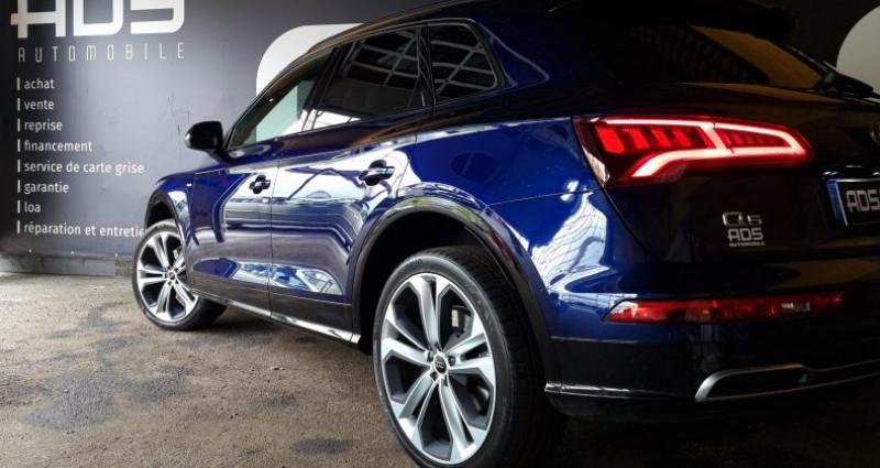 Audi Q5 40 TDI 190ch quattro Euro6d-T Bleu occasion à Diebling - photo n°5