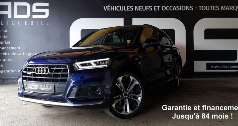 Audi Q5 40 TDI 190ch quattro Euro6d-T Bleu occasion à Diebling - photo n°3