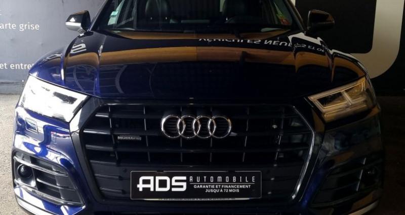 Audi Q5 40 TDI 190ch quattro Euro6d-T Bleu occasion à Diebling - photo n°2