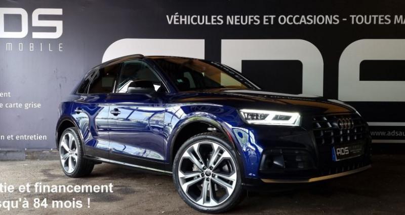 Audi Q5 40 TDI 190ch quattro Euro6d-T Bleu occasion à Diebling