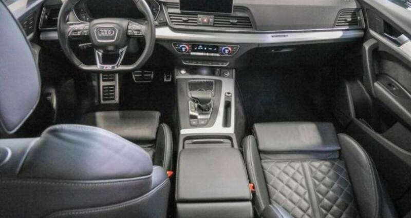 Audi Q5 40 TDI 190ch S line quattro Euro6d-T Gris occasion à Boulogne-Billancourt - photo n°7