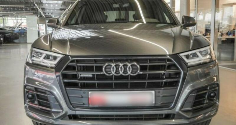 Audi Q5 40 TDI 190ch S line quattro Euro6d-T Gris occasion à Boulogne-Billancourt - photo n°2