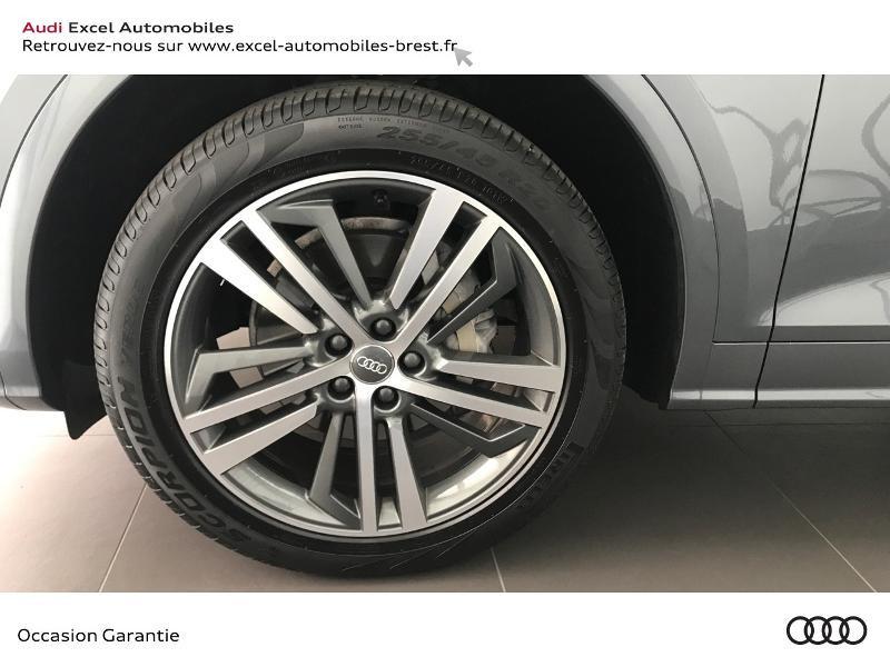 Audi Q5 40 TDI 190ch S line quattro S tronic 7 Euro6d-T 139g Gris occasion à Brest - photo n°19