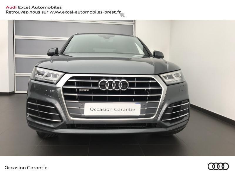 Audi Q5 40 TDI 190ch S line quattro S tronic 7 Euro6d-T 139g Gris occasion à Brest - photo n°2