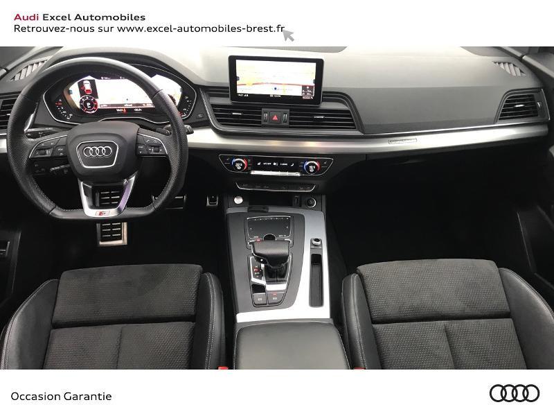 Audi Q5 40 TDI 190ch S line quattro S tronic 7 Euro6d-T 139g Gris occasion à Brest - photo n°7