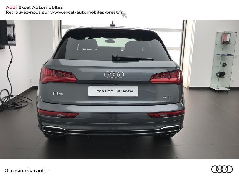 Audi Q5 40 TDI 190ch S line quattro S tronic 7 Euro6d-T 139g Gris occasion à Brest - photo n°5