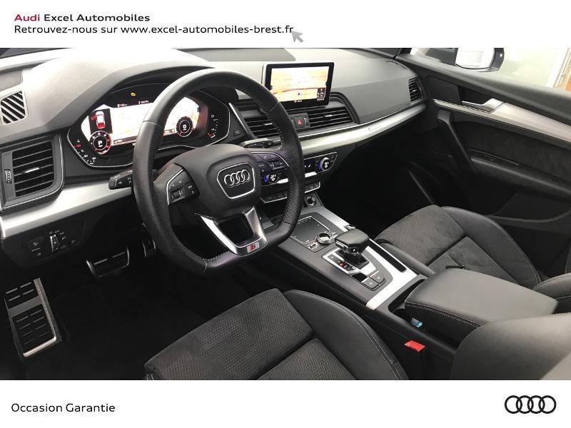 Audi Q5 40 TDI 190ch S line quattro S tronic 7 Euro6d-T 139g Gris occasion à Brest - photo n°6