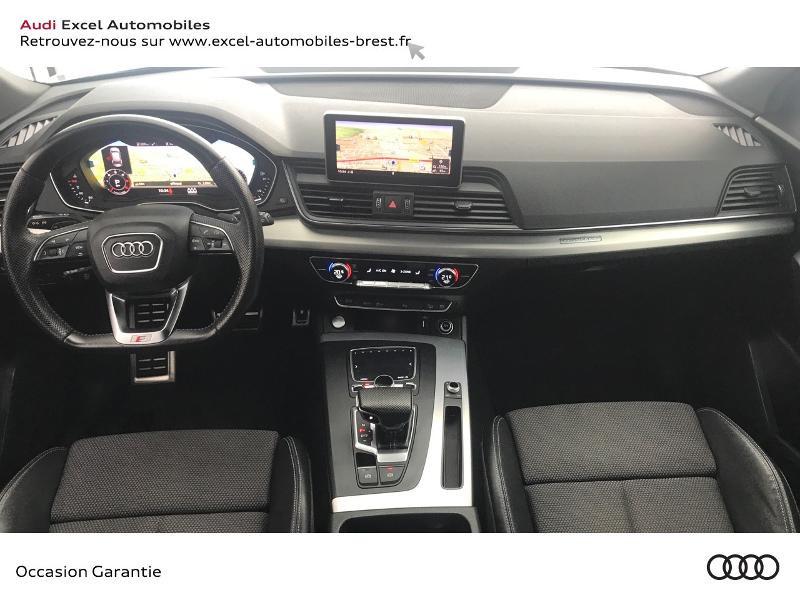 Audi Q5 40 TDI 190ch S line quattro S tronic 7 Euro6d-T 141g  occasion à Brest - photo n°7