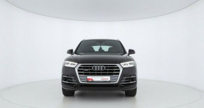 Audi Q5 40 TDI 190ch S line quattro S tronic 7 Noir occasion à Boulogne-Billancourt - photo n°5
